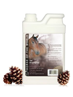 Horse of the world Tar Pearl Paardenshampoo 1L