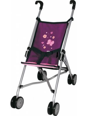 buggy Dolls butterfly 55 cm paars
