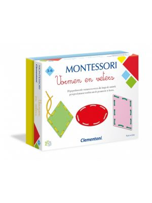 Montessori Vormen en Veters multicolor