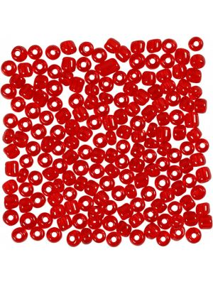 Rocailles rood 25 gram