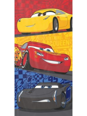 badlaken Cars Line-up 140 x 70 cm