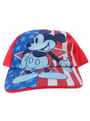 pet Mickey Mouse junior rood maat 54-56