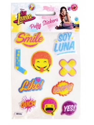 Soy Luna 3D Puffy stickers