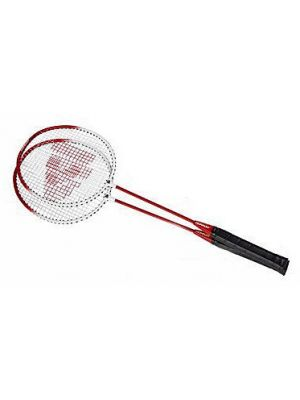 Badmintonset HTF staal rood per set
