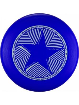 frisbee Ultimate star 27 cm blauw