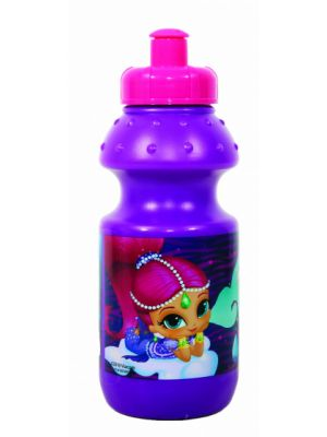 bidon Disney Shimmer and Shine 350 ml paars