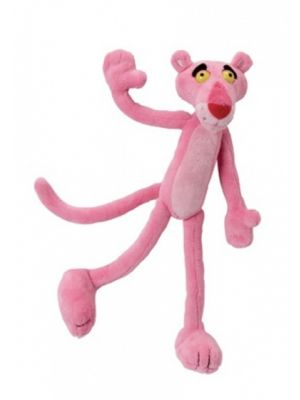 knuffel Pink Panther pluche roze 47 cm