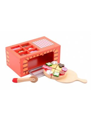 pizza oven 28 cm rood 25-delig