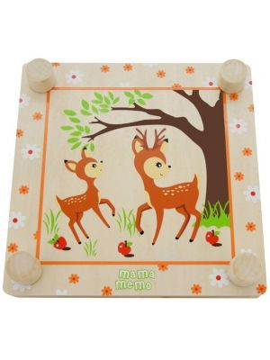 bloemenpers Forest Friends 20 x 20 cm