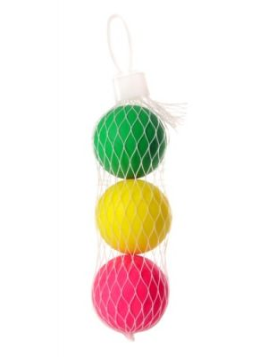 beachball balletjes 3 stuks multicolor