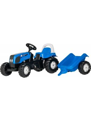 traptractor RollyKid Landini Power Farm junior blauw