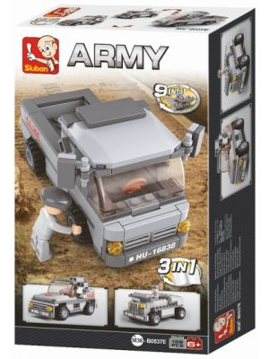 Army: troepentransporter 3-in-1 (M38-B0537E)