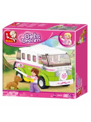 Girls Dream: kampeerwagen (M38-B0523)