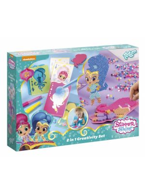2-in-1 Shimmer and Shine knutselset