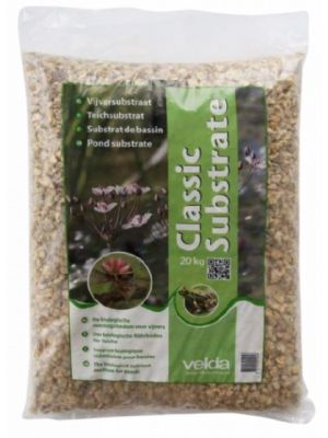 bodemsubstraat Classic Substrate 20 kg bruin
