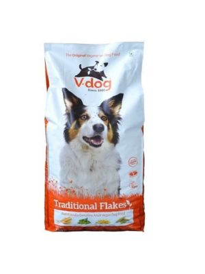 V-Dog Vegetarisch Hondenvoer Traditional Flakes 15kg
