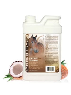 Paardenshampoo Horse of the world Coconut Pearl