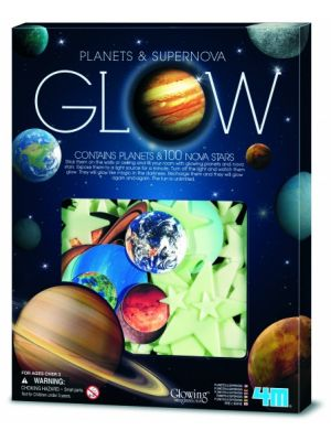 Glow in The Dark Pack:planeten en Supernova