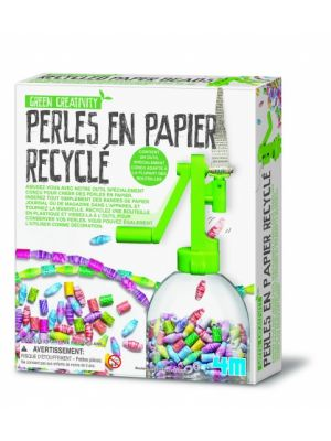 Green Activity: Gerecyclede Papieren Kralenketting