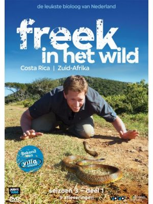 DVD Freek Vonk - Costa Rica & Zuid Afrika