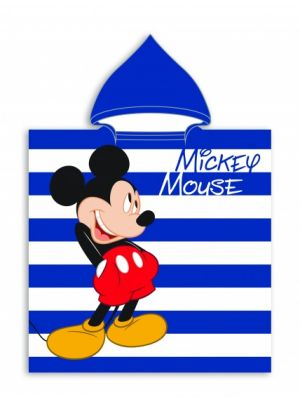 badponcho Mickey Mouse 55 x 110 cm