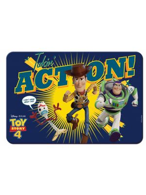 Toy Story 4 placemat 43 x 29 cm blauw