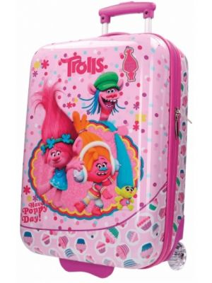 Trolls Happy trolley 55 x 36 x 20 cm roze