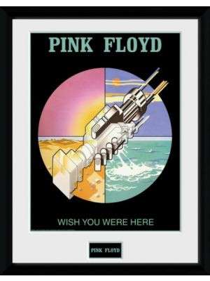 poster in lijst Pink Floyd Wish you were here 30 x 40 cm