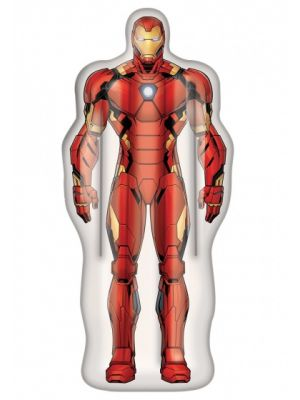 luchtbed Marvel Iron-Man 175 x 73 cm rood