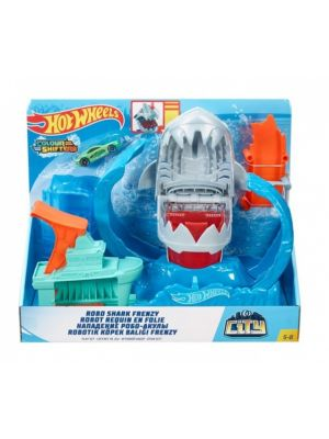 racebaanset City Robo Shark Frenzy