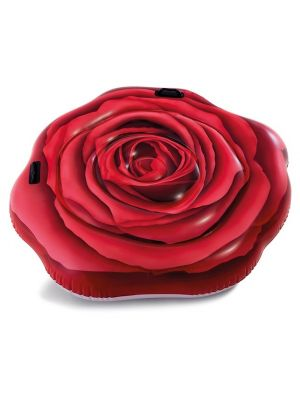 luchtbed Red Rose 137 x 132 cm rood
