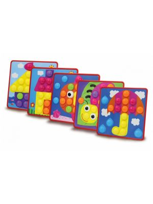 vormenspel Creative Pins junior set A 50-delig