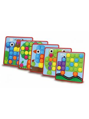 vormenspel Creative Pins junior set B 50-delig