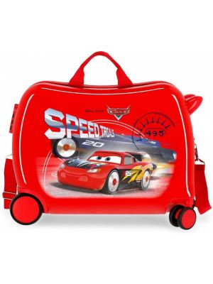 Cars ride-on koffer 34 liter rood