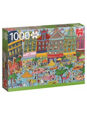 PC Sightseeing Grand Place Brussels puzzel 1000 stukjes