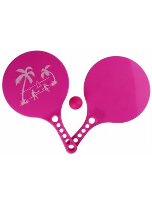 beachball-set Beach Fun 3-delig roze