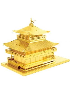 Metal Earth Gold Kinkaku-ji modelbouwset
