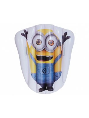 luchtbed Minions 92 x 109 cm geel