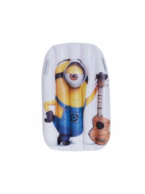 luchtbed Minions 95 x 81 cm geel