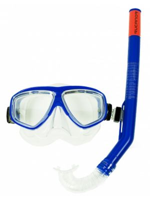 snorkelset Ray junior blauw
