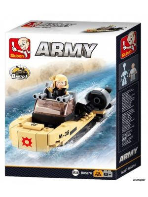 Army: aanvalsboot 8-in-1 (M38-B0587H)