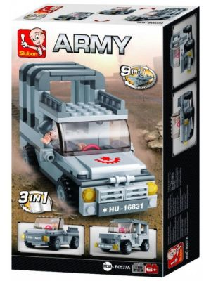 Army: jeep 3-in-1 (M38-B0537A)