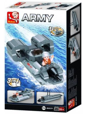 Army: jetboot 3-in-1 (M38-B0537F)