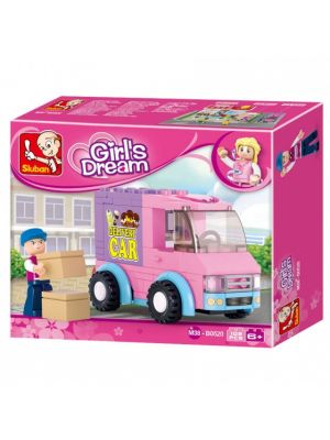 Girls Dream: bezorgwagen (M38-B0520)