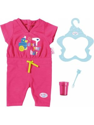 Jumpsuit set roze 4-delig