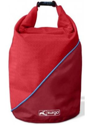 draagbare voercontainer Kibble Carrier 2,2 kg 36 cm rood
