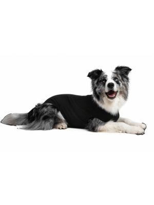 Recovery Suit hond 55-69 cm polyester zwart