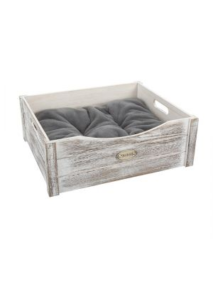 Scruffs Hondenmand Rustic Wooden Bed