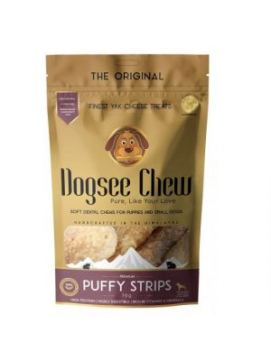 Dogsee Chew Puffy Strips 70 gr