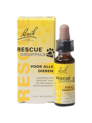 Bach Rescue Remedy Druppels 10 ml Anti-Stress Honden